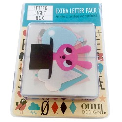Lightbox Extra Letter Pack