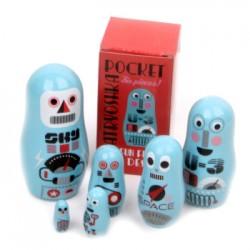 Matroschka Pocket Robots
