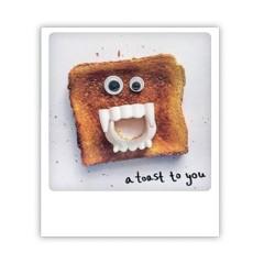 """Pickmotion Karte """"A toast to you"""""""