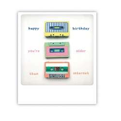 "Pickmotion Karte ""Cassette-Day"""