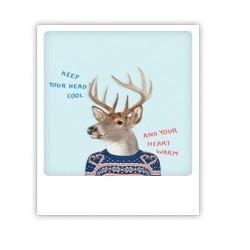 "Pickmotion Karte ""Cool head warm heart"""