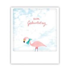 "Pickmotion Karte ""Geburtstagsflamingo"""