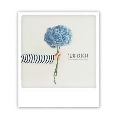 """Pickmotion Karte """"Für dich"""