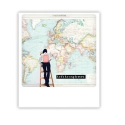 "Pickmotion Karte ""Let's be explorers"""
