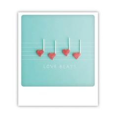 "Pickmotion Karte ""Love Beats"""