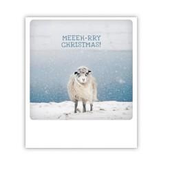 "Pickmotion Karte ""Meeeh-rry Christmas"""