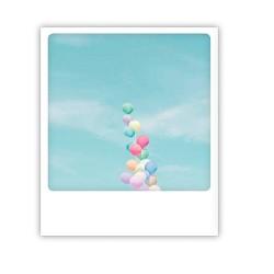 "Pickmotion Karte ""Pastel Balloons"""