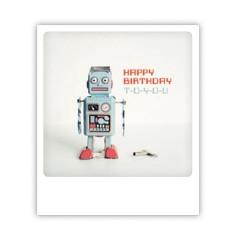 "Pickmotion Karte ""Roboter Happy Birthday"""
