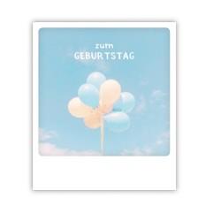 """Pickmotion Karte """"Zum Geburtstag Ballons"""""""