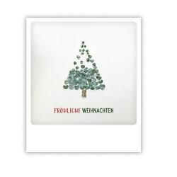 """Pickmotion Karte """"Fröhlichw Weihnachten Blätterbaum"""""""