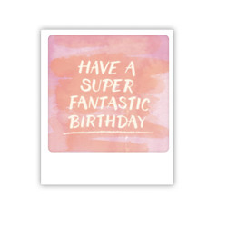 "Pickmotion Mini Pic Karte ""Have a super fantastic Birthday"""
