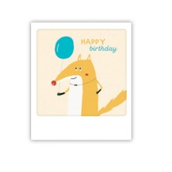 "Pickmotion Mini Pic Karte ""Happy Birthday Fuchs"""