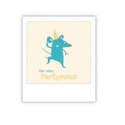 "Pickmotion Mini Pic Karte ""Partymaus"""