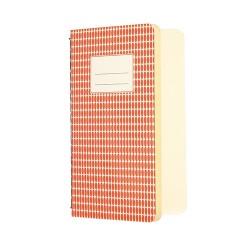 A6 Heft Abstract Orange