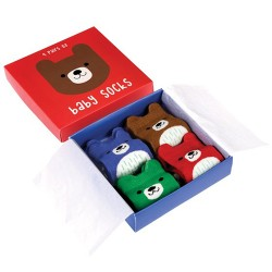 Baby Socken Set mit Bären