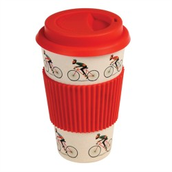 "Bamboo To-go Becher ""Retro Bicycle"""