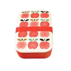 Bamboo Lunchbox Vintage Apple