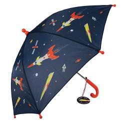 Kinder Regenschirm Space Age