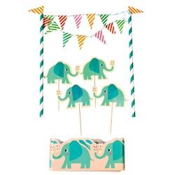 Kuchen Dekoration Elvis der Elefant