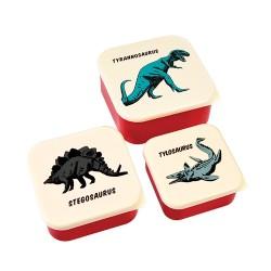 Lunchboxen Set Dinosaurier
