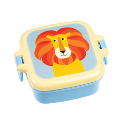 Snackbox Bunte Tierfreunde Löwe