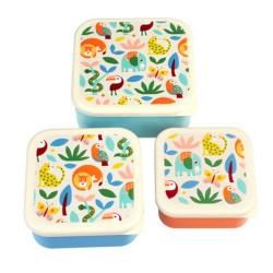 Lunchboxen Set Wild Wonders