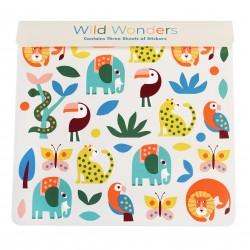 """Sticker Set """"Wild Wonders"""""""
