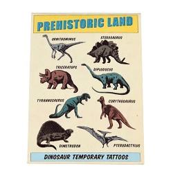 Fun Tattoo Set Dinosaurier