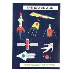 Fun Tattoo Set The Space Age