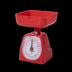 Retro Küchenwaage Rot