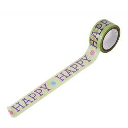 breites Masking Tape HAPPY