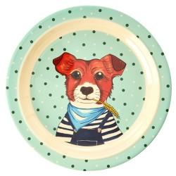 """Melamin Kinderteller """"Animal Farm Hund"""""""