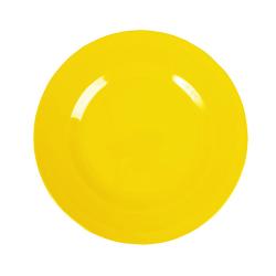 Melamin Teller Unifarben Gelb