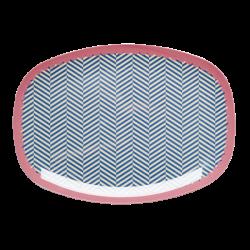 Melamin Platte Sailor Stripe
