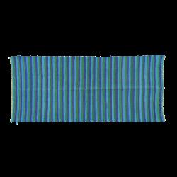 rice teppich t rkis blau gr n. Black Bedroom Furniture Sets. Home Design Ideas