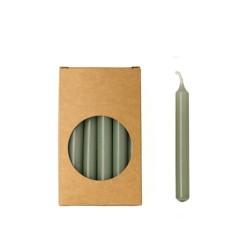20er Kerzen Set 10cm Eukalyptus
