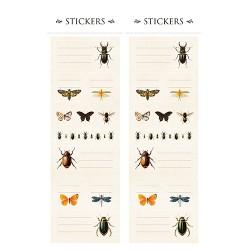 Sticker Set INSEKTEN