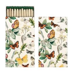 Streichhölzer Schmetterlinge