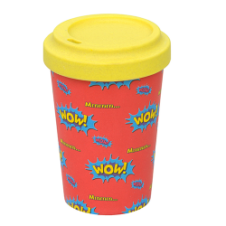 "Bamboo To Go Becher ""WOW"""