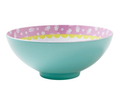 melamin japanese bowl aqua shabby. Black Bedroom Furniture Sets. Home Design Ideas