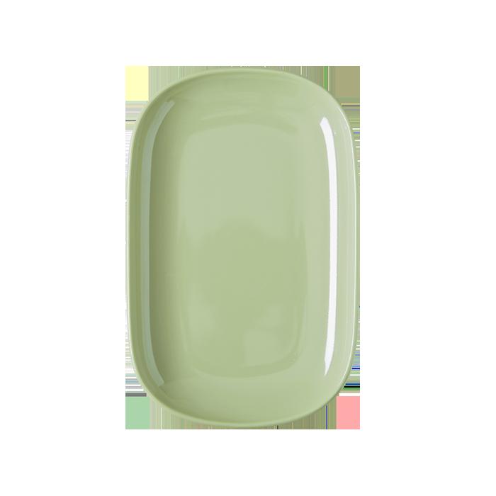 melamin retro platte s pastel green shabby. Black Bedroom Furniture Sets. Home Design Ideas