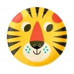 Melamin Kinderteller Tigergesicht
