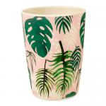 Bamboo Becher Tropical