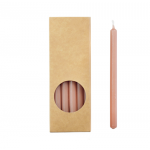 20er Kerzen Set 17,5cm Karamell