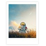 """Pickmotion Art Poster """"Not from this world"""""""