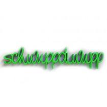 3D Schrift SCHWUPPDIWUPP