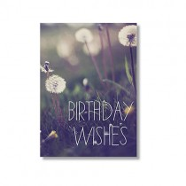 "Alicia Bock Karte ""Birthday Wishes"""