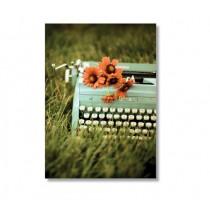 """Alicia Bock Karte """"Typewriter"""""""