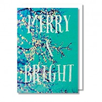 "Alicia Bock Klappkarte ""Merry & Bright"""