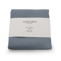 Aspegren Leinen Geschirrtuch Dream Blue